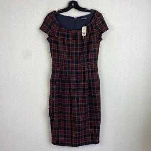 LE CHATEAU Plaid Stretchy Dress NWT